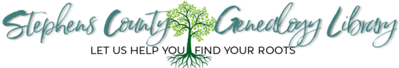 Stephens County Genealogy Library